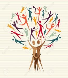 20633124-Famille-formes-humaines-d-arbres-de-design-color-fichier-en-couches-pour-une-manipulation-facile-et--Banque-d'images